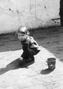 Jürgen Marek als Kind